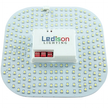 Ledison 18W 2D microwave sensor, detachable antenna and photocell