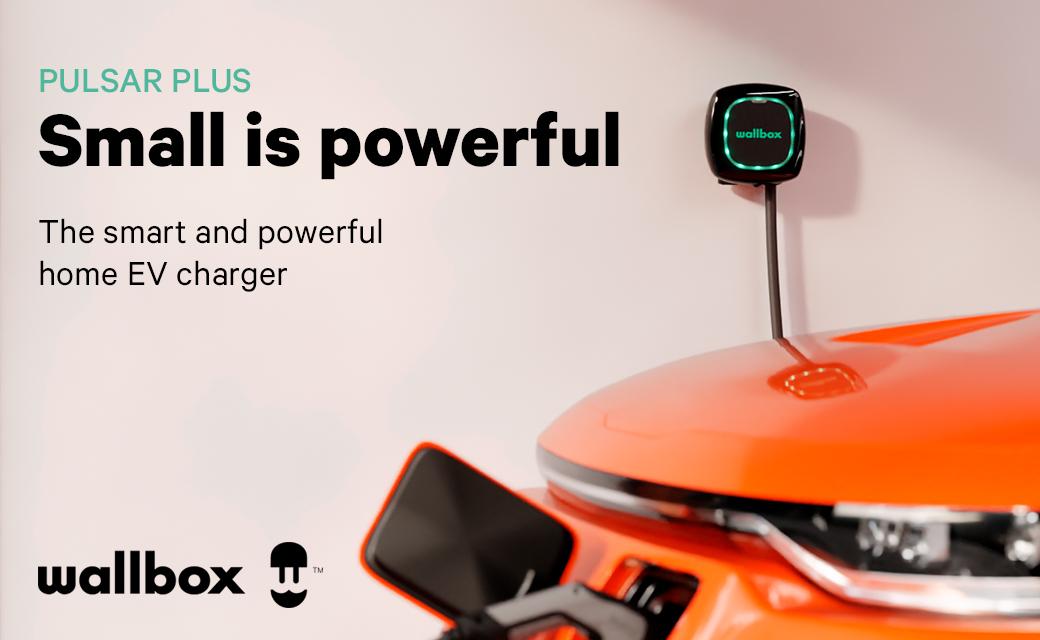 Pulsar 7.4kw EV-charger Wallbox